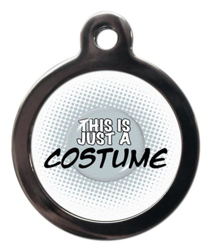 Pet ID Tag  THIS IS JUST A COSTUME